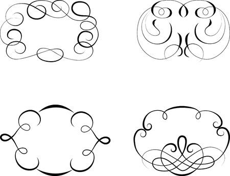Vintage patterns for design Illustration