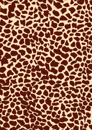 stripes: Vector image of a giraffe texture