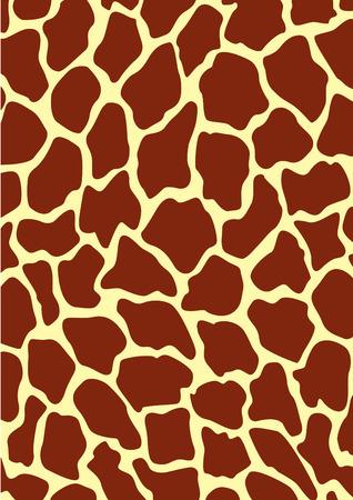 Vector image of a giraffe texture Stock Vector - 3779567
