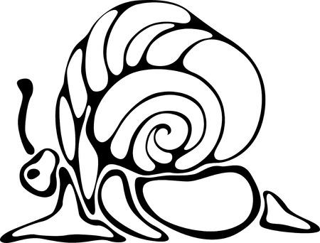 crawling creature: Snail