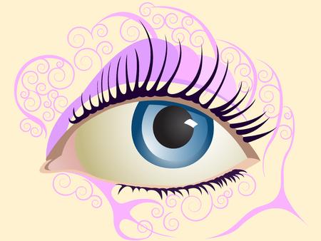 lash: Eye - Vector