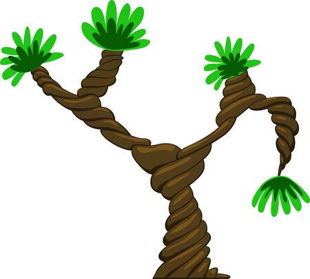 Fantastic vector tree design Stock Vector - 4847805