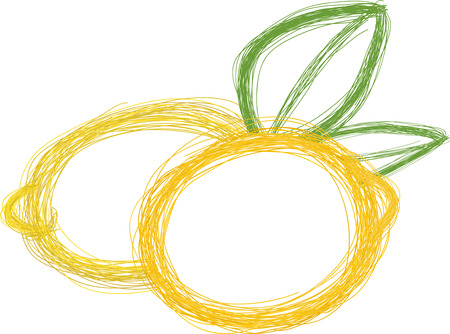 Art. Vector illustration of lemon