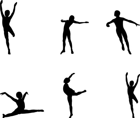 sports silhouettes vector Vector