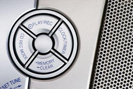 portative: Portable CD player controls design elements