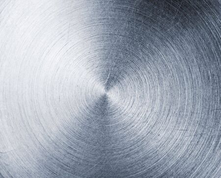 Abstract scratched aluminum texture photo