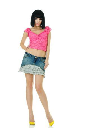 Sexy young fashionable woman posing Stock Photo - 8043458