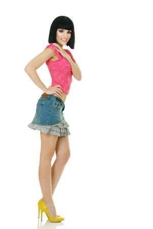 Sexy young fashionable woman posing Stock Photo - 8043454