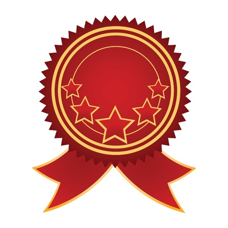 certificate icon: Vector Satisfaction Guaranteed label tag isolated over white background