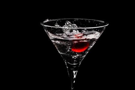Splashing cocktail photo