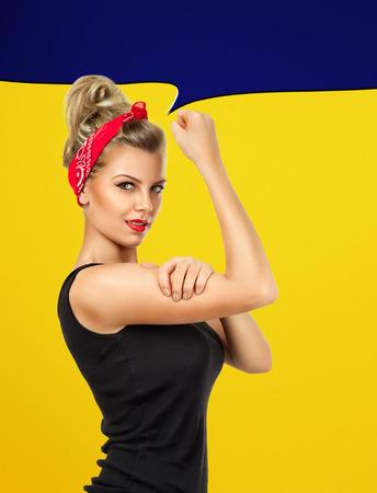 american sexy: Современный дизайн, вдохновленный классическим американским плакат - Мы можем сделать это Да, мы можем, мы можем сделать это