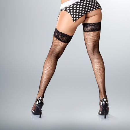 Сексуальная мускулистый женские ноги