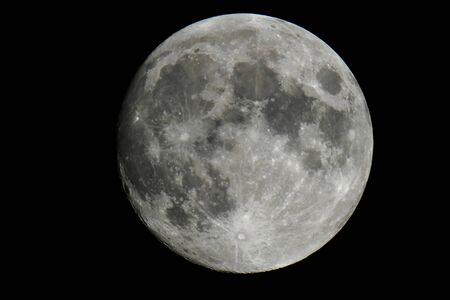 Full moon occupying the entire frame