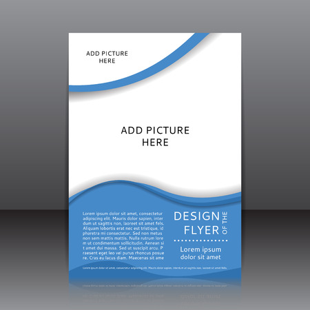 design of the flyer