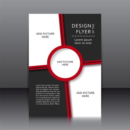 brochure design: design of the flyer