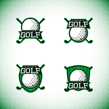 championship: golf championship. Vector illustration. Illustration
