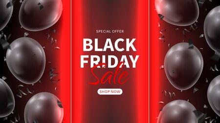 Black Friday sale promo banner.