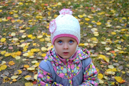 eye: Little girl Stock Photo