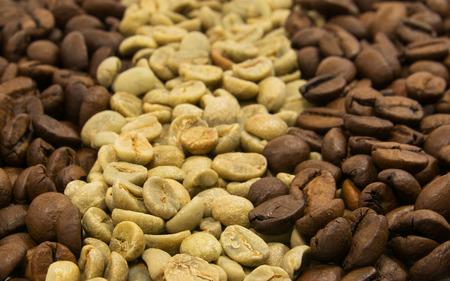 emot: Green and black coffee Stock Photo