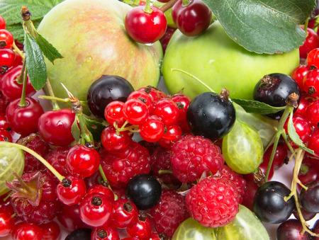 fruity: fruity summer set Stock Photo