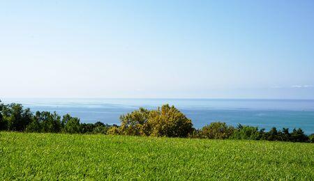 paysage marin: beau marin  Banque d'images