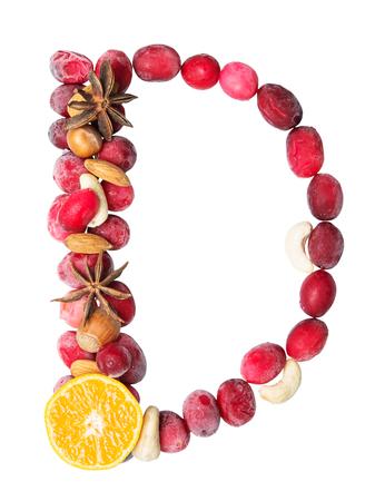d: fruit letter D