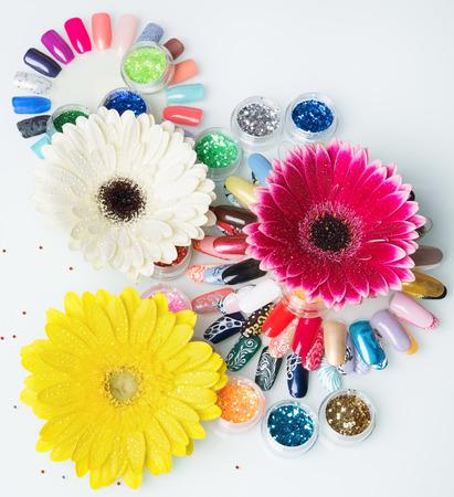 manicure set: flower manicure set