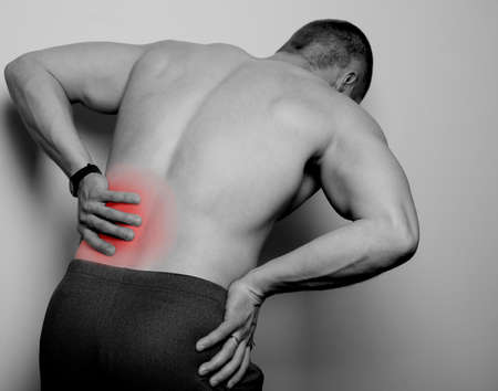 spasms: pain in the back