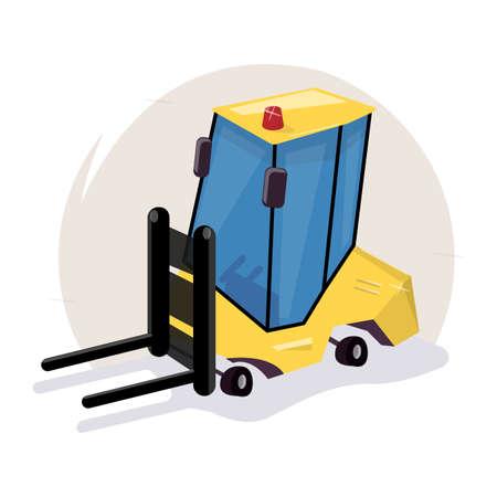 Icon loader equipment image illustration Illustration