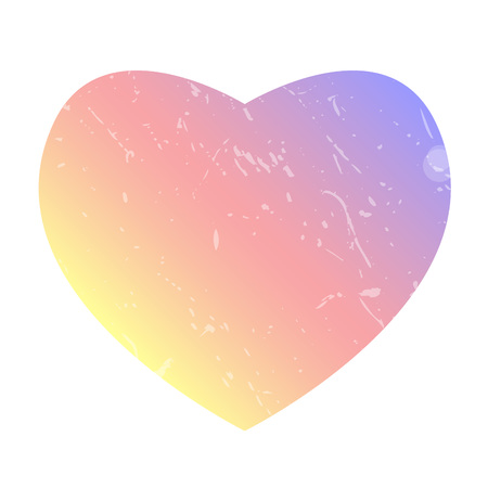Heart like. Colorful smooth gradient color insta gram background. Social network.
