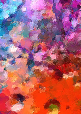 color mixed art abstract texture impressionism background painting