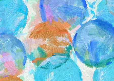 Abstract texture Impressionism background. Painting on canvas artwork. Hand drawn art. Modern artistic work. Good for printed pictures, design postcard, posters and wallpapers
