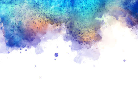 Abstract texture background. Art wallpaper. Colorful digital painting design. Stock. Big size watercolor and oil mix pictorial art. 免版税图像