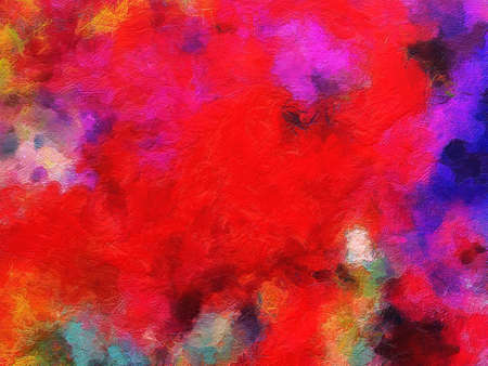Abstract texture background. Digital design painting impressionism artwork. Hand drawn art pattern. Modern art. Good for printed pictures, postcards, posters or wallpapers and textile printing. Stock Photo