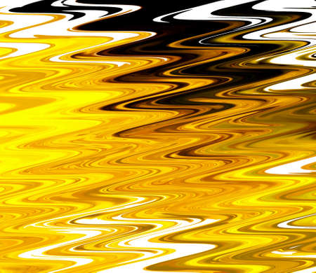 Liquid painting rich golden fractal art. Magic luxury artwork. Graphic design artistic pattern. Abstract gold surreal background. Elegant print.