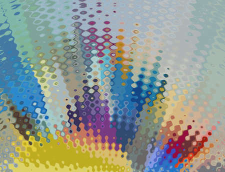 Fractal conceptual art. Abstract design pattern artwork. Graphic painting in modern style. Creative fashion decor for business cards, postcards, banners, invitations and other printed matter. Standard-Bild - 116241319