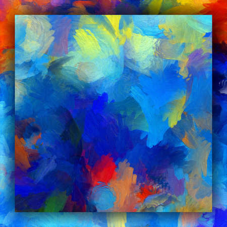 Fractal conceptual art. Abstract design pattern artwork. Graphic painting in modern style. Creative fashion decor for business cards, postcards, banners, invitations and other printed matter. Standard-Bild - 116240721