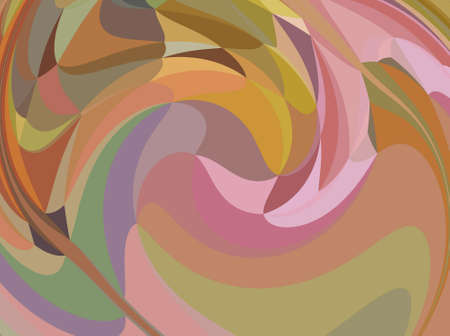Fractal conceptual art. Abstract design pattern artwork. Graphic painting in modern style. Creative fashion decor for business cards, postcards, banners, invitations and other printed matter. Standard-Bild - 116239433