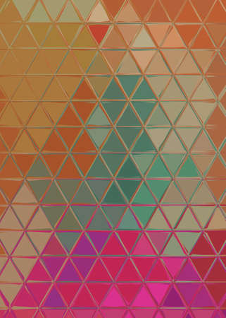Fractal conceptual art. Abstract design pattern artwork. Graphic painting in modern style. Creative fashion decor for business cards, postcards, banners, invitations and other printed matter. Standard-Bild - 116239088