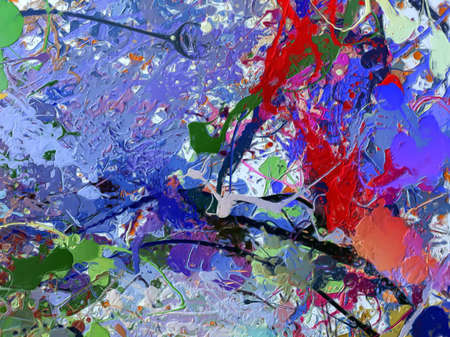 Abstracte impressionisme stijl olieverfschilderij achtergrond. Home decor kunst aan de muur afdrukken. Voorraad. Artistiek patroon voor creatief ontwerp van banners, briefpapier, poster of uitnodigingen. Hedendaagse mode beeldende kunst.