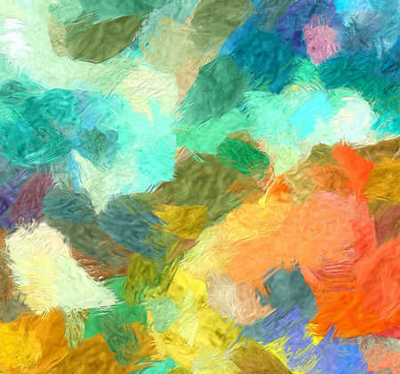 Canvas wall art print for sale. Stock. Oil painting. Impressionism and expressionism mixed drawing style. Contemporary fine artwork for decor posters, banners or products. Modern original background.