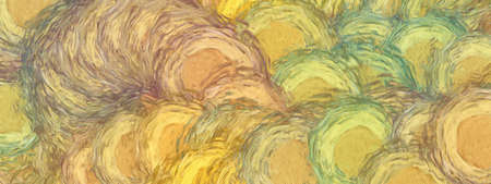 Abstract texture background. Digital painting in Vincent Van Gogh style artwork. Hand drawn artistic pattern. Modern art. Good for printed pictures, postcards, posters or wallpapers and textile print. 版權商用圖片
