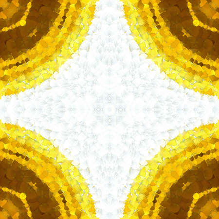 Abstract gold background. Fractal luxury art. Graphic painting golden artwork in oil imitation. Stock. Digital rich arabic texture. Wall art decor. Contemporary in modern style. 版權商用圖片