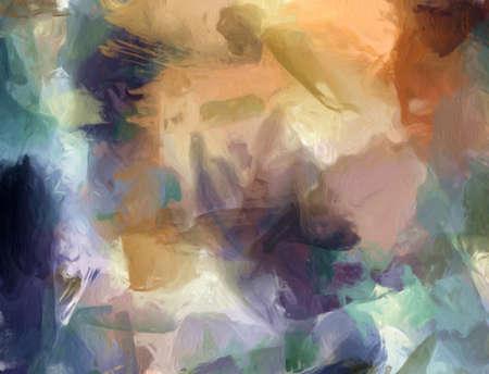 Hand getekend abstracte achtergrond sjabloon voor flyer, poster, banner, uitnodiging, visitekaartjes en ander drukwerk. Creatief patroon voor grafische ontwerpproductie. Kunst schilderij behang. Stockfoto