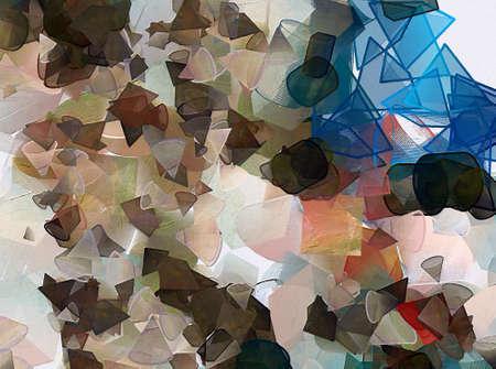 Abstraktes buntes Muster zur Verwendung als Hintergrund für verschiedene Designdrucke und Webproduktionen. Kreativer Kunsthintergrund für Banner, Flyer, Karten und Einladungen. Gut für großes Innendekor-Wandplakat