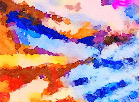 Fond de texture abstraite. Oeuvre d'aquarelle de peinture de conception numérique. Motif artistique dessiné à la main. Art moderne. Bon pour les images imprimées, les cartes postales, les affiches ou les papiers peints et l'impression textile