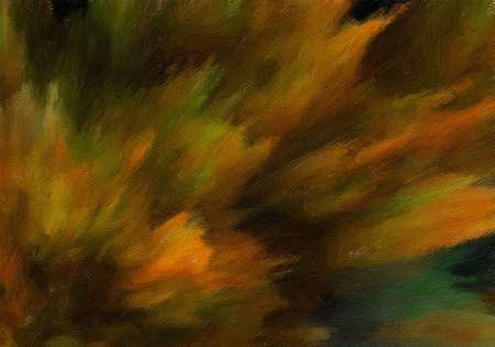 Impression d'art mural abstrait contemporain, beau fond de motif moderne, oeuvre de peinture à l'huile de style fantaisie de mode, coups de pinceau de volume sur toile, impression artistique colorée ou affiche