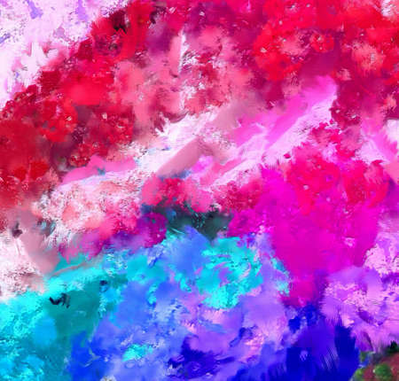Abstract texture background. Painted on canvas watercolor artwork. Digital hand drawn art. Modern artistic work. Good for printed pictures, design postcard, posters and wallpapers.