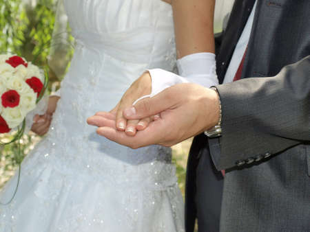 Newly married Stock Photo - 7001761