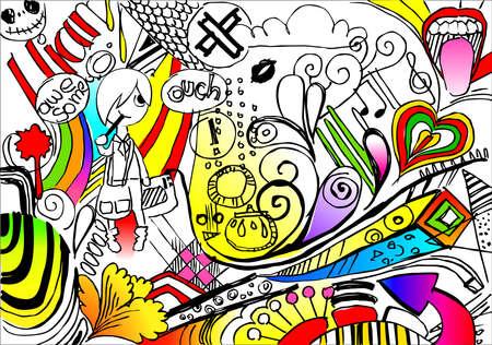 abnormal: inner life of an artist Illustration